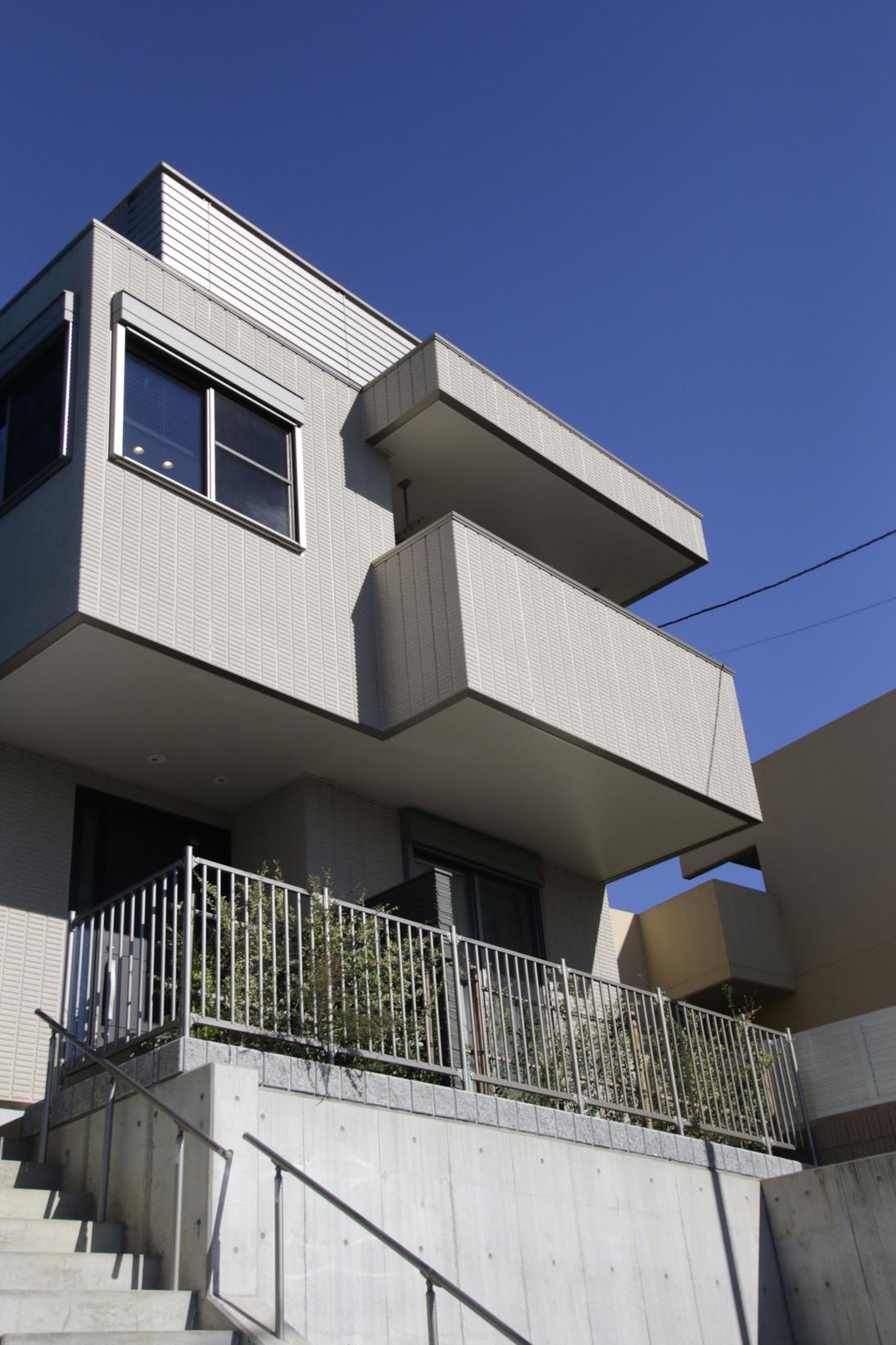 高台の上に立つので眺望が最高です