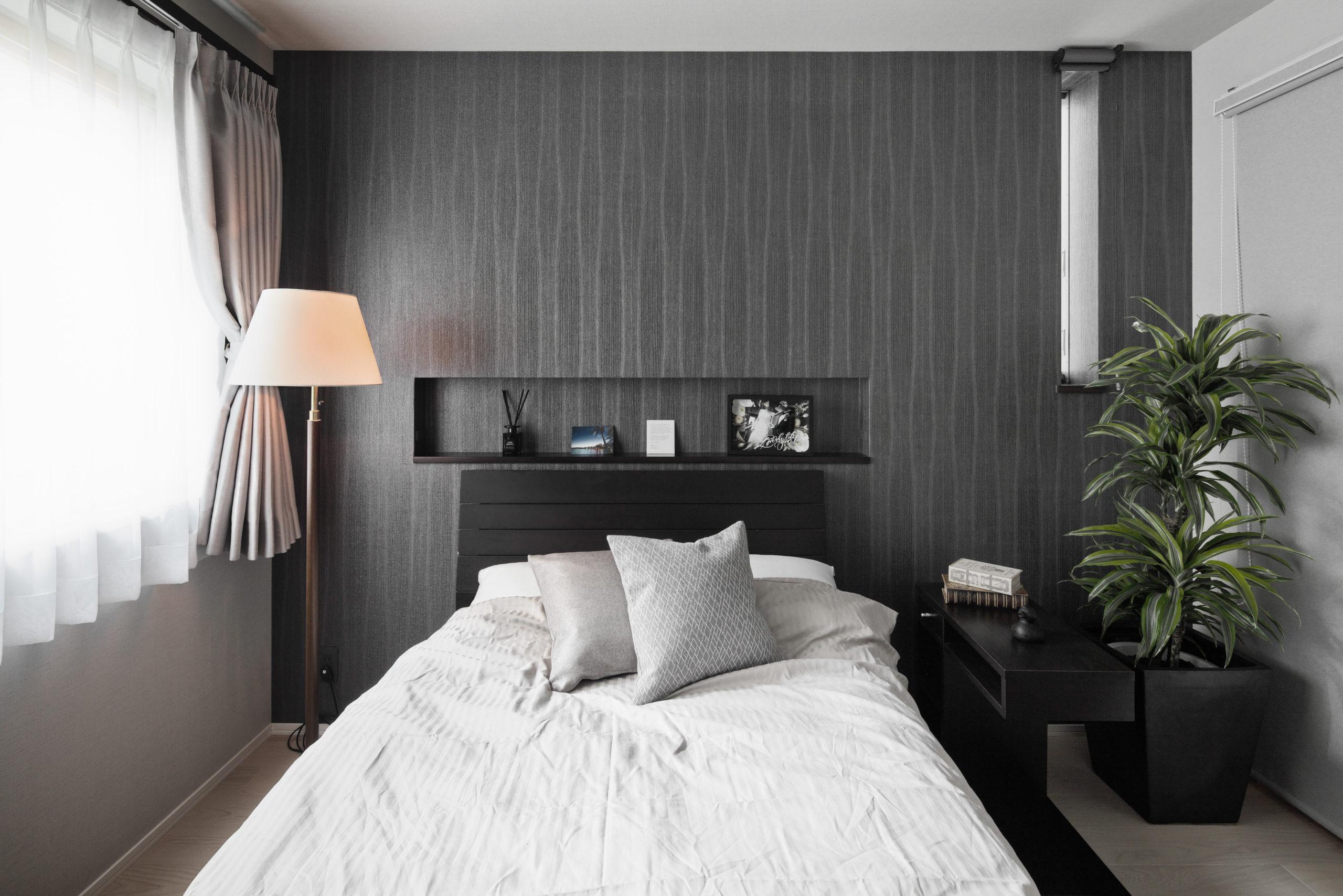 ホテルテイクな寝室
